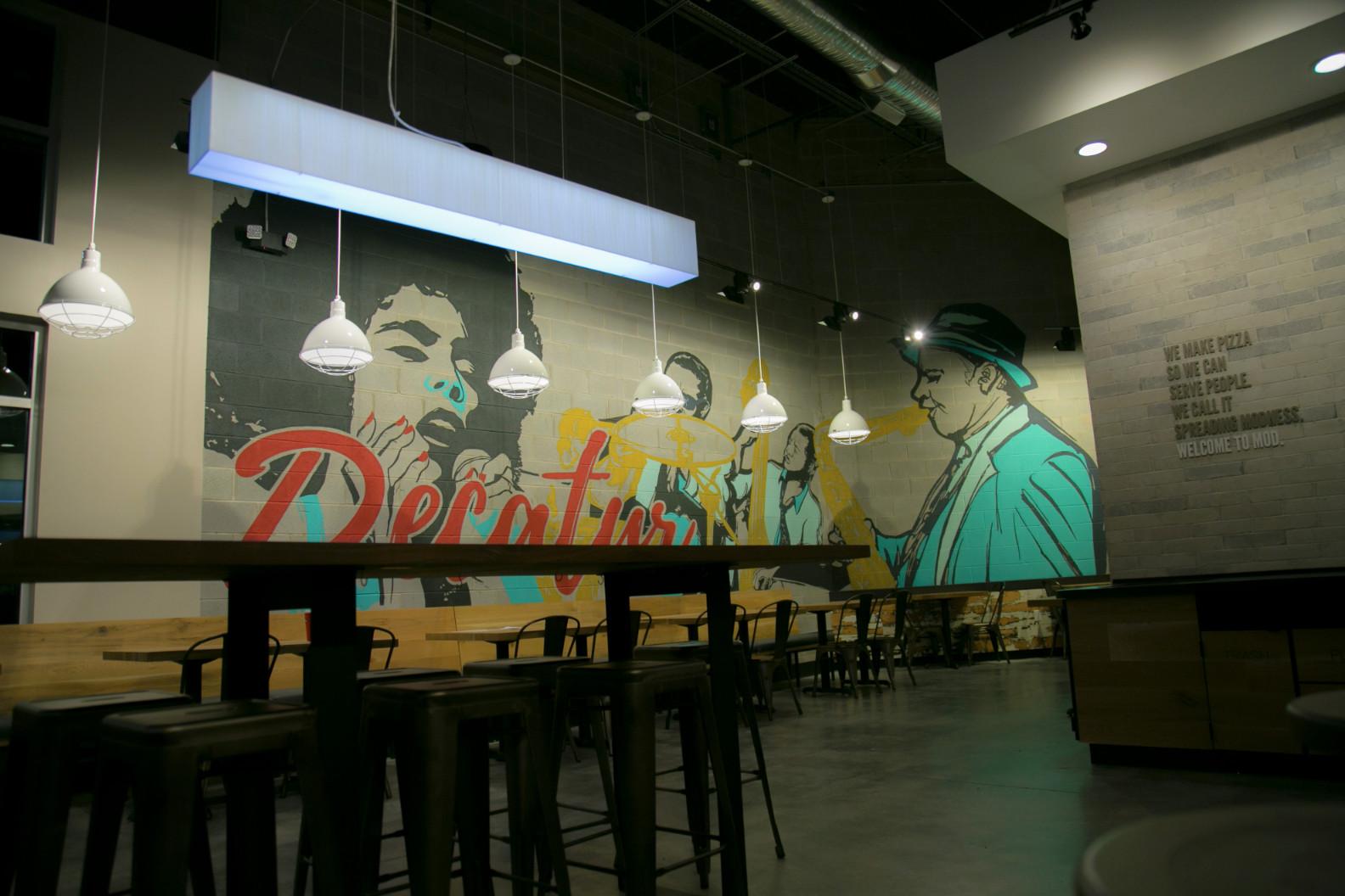 Buckhead Murals Atlanta Handpainted Murals Amp Signs